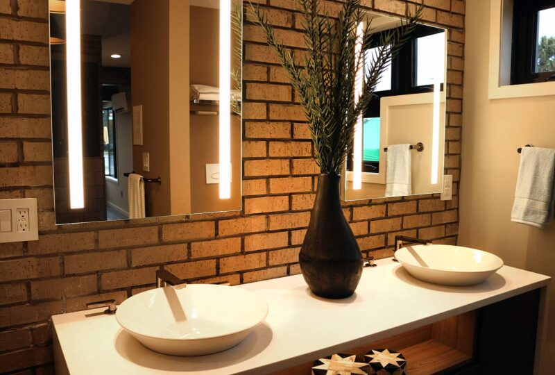 Thin Brick Vanity Sinks